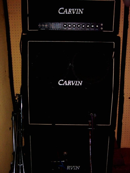 Carvin Double Stack Tube Amp